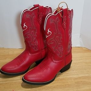 Justin 2555jr  Boots Size 3 1/2